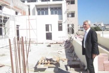 Επίσκεψη του Περιφερειάρχη Νοτίου Αιγαίου σε έργα στο νησί της Ρόδου
