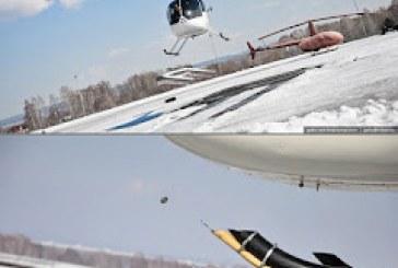 Πιλότοι άνοιξαν μπουκάλια μπύρας με το ελικόπτερό τους