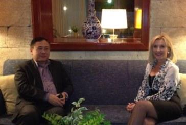 Συνάντηση με τον Εμπορικό και Οικονομικό Ακόλουθο της Κινεζικής Πρεσβείας, κ. Sun Liwei, είχε η Αντιπεριφερειάρχης Ν. Αιγαίου, Ελευθερία Φτακλάκη