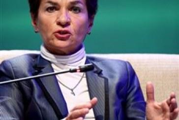 H γραμματέας του ΟΗΕ για το Κλίμα κλαίει για τις μελλοντικές γενιές