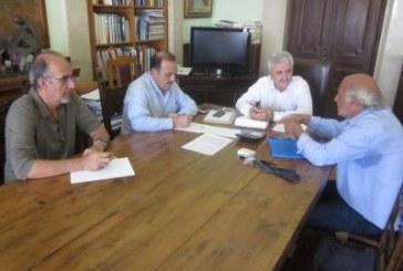 Σύσκεψη με θέμα τον εξοπλισμό με ιατρικά μηχανήματα του Νοσοκομείου στην Περιφέρεια Νοτίου Αιγαίου