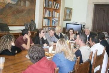 Συνάντηση του Περιφερειάρχη με Ισραηλινούς δημοσιογράφους