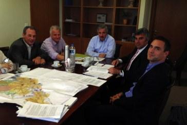 Συνάντηση του δημάρχου Τήνου με τον υπουργό Περιβάλλοντος