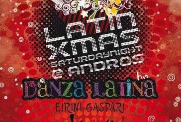 Χριστουγεννιάτικο Latin Party στο Danza Club
