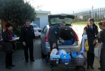 Τρόφιμα παρέδωσε σε φορείς της Δωδεκανήσου η Ελληνική Αστυνομία