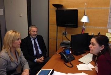 Επαφές με ευρωβουλευτές έχει στις Βρυξέλλες η αντιπεριφερειάρχης Τουρισμού Ν.Αιγαίου