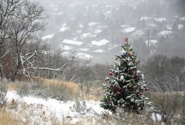 Ένα χριστουγεννιάτικο δέντρο στολίζεται μυστηριωδώς στη Γιούτα