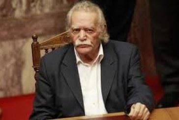 O Μανώλης Γλέζος στην Πάρο – Πρώτες δηλώσεις μετά την εκλογή του