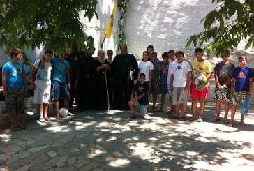 Ξεκίνησε η Κατασκήνωση στην Ιερά Μονή Τρομαρχίων – Στην Άνδρο την Πέμπτη ο Μητροπολίτης κ.κ. Δωρόθεος για την τέλεση του Αγιασμού