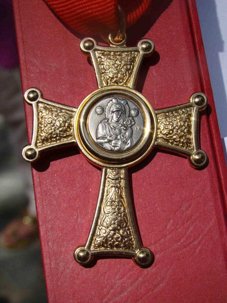 Ο χρυσός σταυρός της Αγίας Μεθοδίας της Κιμώλου