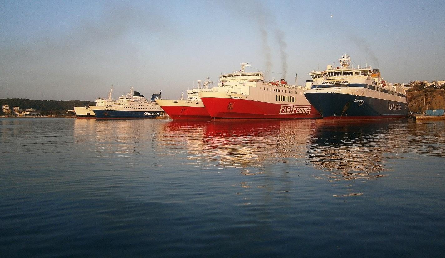 Δρομολόγια πλοίων από 16 Απριλίου μέχρι 22 Απριλίου 2015