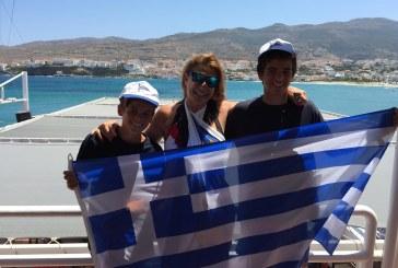 Οι ιστιοπλόοι Λεωνίδας Τσορτανίδης  και Πέτρος Τσορτανίδης θα εκπροσωπήσουν την Ελλάδα και τον Ν.Ο. Άνδρου στο Ευρωπαικό Πρωτάθλημα Bic Techno T293 od