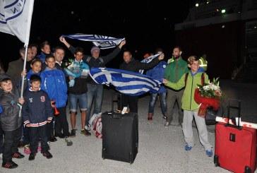 Θερμή υποδοχή στο Γαύριο για τον Παγκόσμιο Πρωταθλητή Λεωνίδα Τσορτανίδη και τον αδερφό του Πέτρο