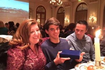 Η Ένωση Ανδρίων βράβευσε τον παγκόσμιο πρωταθλητή Λεωνίδα Τσορτανίδη