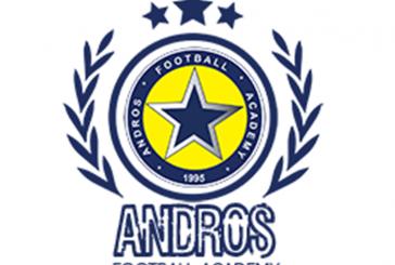 Ανακοίνωση Σχολής Ποδοσφαίρου Άνδρου για το πρόγραμμα προπονήσεων