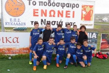Ακαδημία ποδοσφαίρου Άνδρου: Ντέρμπι «Μπαμπάδες – Μπόμπιρες»