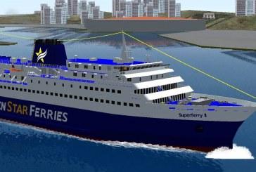Virtual Sailor… στο Λιμάνι του Γαυρίου με το Superferry II και το Θεολόγος Π.