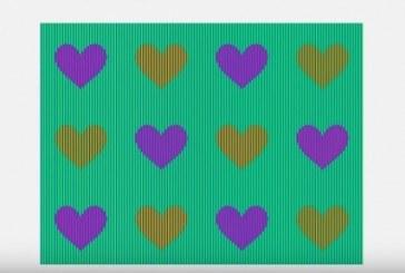 Τεστ: Τι χρώμα είναι οι καρδιές;