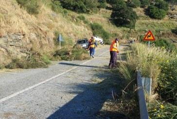 ΣΕΔΑ και Δήμος Άνδρου καθάρισαν τον δρόμο των Λεβαδίων!!!