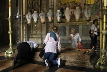 Ξεκίνησαν οι εργασίες αναστήλωσης του Παναγίου Τάφου στα Ιεροσόλυμα