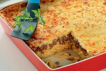 Σήμερα μαγειρεούμε: Παστίτσιο, ο βασιλιάς των ζυμαρικών φούρνου