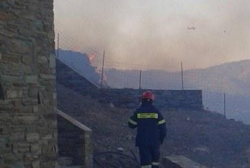 Ο Σύλλογος Εθελοντών Δασοπυροσβεστών Άνδρου για την πυρκαγιά στο Φελλό