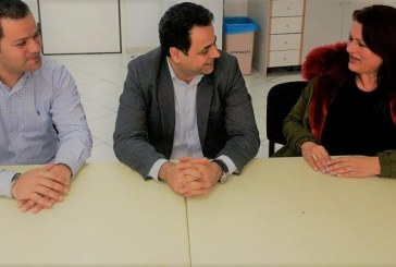 Συνάντηση Ένωσης Καλυμνίων Ρόδου με τον υφυπουργό Ναυτιλίας Νεκτάριο Σαντορινιό για αύξηση ακτοπλοϊκών και αεροπορικών συγκοινωνιών και δρομολόγηση της ίδρυσης ΑΕΝ