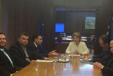 Στην Υπουργό Διοικητικής Ανασυγκρότησης Όλγα Γεροβασίλη ο Περιφερειακός Συμπαραστάτης Νοτίου Αιγαίου Φίλιππος Τριομμάτης