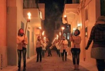 Λαμπαδηφορία με πρωτοβουλία του» συλλόγου Ν.Ε.Ο.Ι Άνδρου» για την εορτή της Θεοσκέπαστης