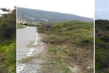 Περιφερειακή Ενότητα Άνδρου: Ξεκίνησαν οι εργασίες καθαρισμού των τάφρων απορροής στο επαρχιακό οδικό δίκτυο Χώρα – Συνετί – Κόρθι