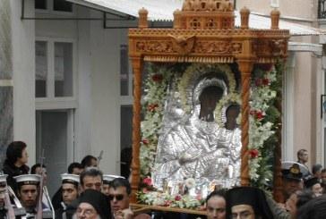Θεία λειτουργία για την γιορτή της Θεοσκεπάστου στην Αθήνα από την «Ένωσις Ανδρίων»