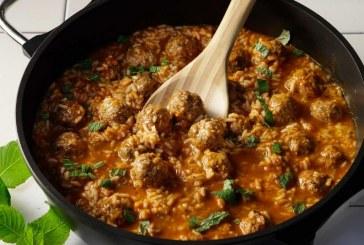 Σήμερα μαγειρεύουμε: Κεφτεδάκια μαγειρευτά με μανέστρα και δυόσμο