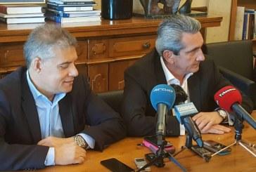 Ο ρόλος των Περιφερειών στην παραγωγική ανασυγκρότηση της χώρας, βασικό θέμα της συνάντησης του Προέδρου της ΕΝΠΕ Κ. Αγοραστού με τον Περιφερειάρχη Νοτίου Αιγαίου Γ. Χατζημάρκο, στη Ρόδο