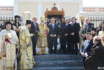 Στην Άνδρο για τις εκδηλώσεις της Παναγίας της Θεοσκέπαστης, ο Περιφερειάρχης Γ. Χατζημάρκος