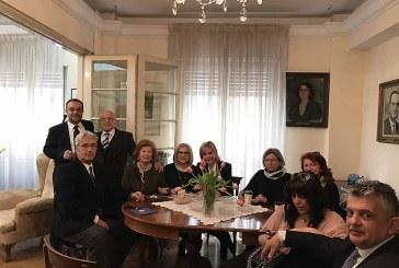 Ένωσις Ανδρίων: Της Παναγίας της Θεοσκεπάστου στην Αθήνα