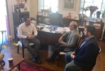 Με Λεονταρίτη και Μπρίγγο συναντήθηκε ο Δήμαρχος Μυκόνου