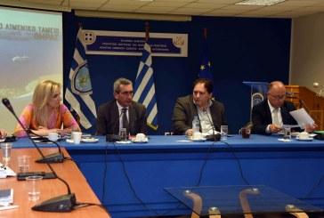 Ο Περιφερειάρχης Γ. Χατζημάρκος, σε ευρεία σύσκεψη για την κρουαζιέρα  στο Υπουργείο Ναυτιλίας και Νησιωτικής Πολιτικής