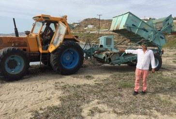 Ο Δήμος Μυκόνου καθάρισε τις παραλίες του νησιού