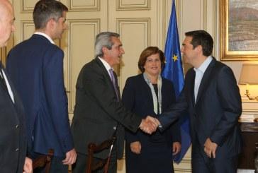 Ισχυρό και θεσμικά κατοχυρωμένο ρόλο των Περιφερειών στην παραγωγική ανασυγκρότηση της χώρας, ζήτησε από τον Πρωθυπουργό ο Περιφερειάρχης Γιώργος Χατζημάρκος