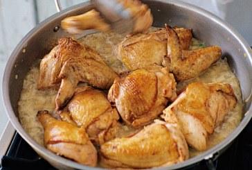 Πιάτα Ημέρας: Κοτόπουλο με Calvados