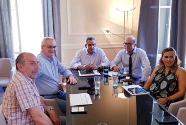 Σύσκεψη εργασίας του Περιφερειάρχη με την ηγεσία της ΕΓΝΑΤΙΑ ΑΕ, για την πορεία έργων και τον προγραμματισμό μελετών