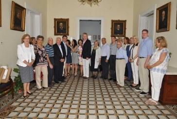 Ο Πρέσβης των ΗΠΑ επισκέφθηκε την Άνδρο και αποχώρησε με τις καλύτερες εντυπώσεις.
