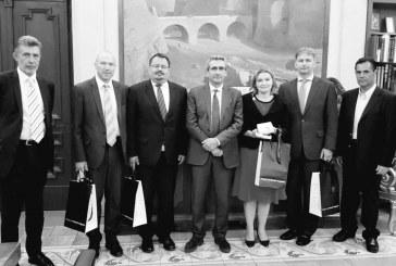 Τους τέσσερις πρέσβεις των χωρών του Βίσεγκραντ, δέχθηκε ο Περιφερειάρχης Γιώργος Χατζημάρκος