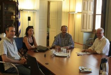 Συνάντηση εργασίας με το Δήμαρχο Κέας στο Επιμελητήριο Κυκλάδων