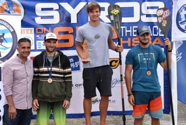 Ο Ανδριώτης Νίκος Συρίγος μεγάλος νικητής του αγώνα «Syros on SUP»
