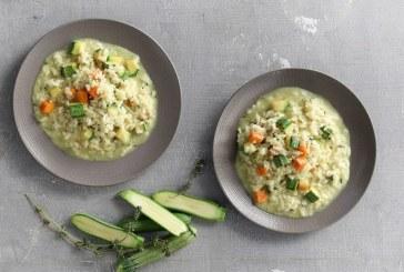 Σήμερα μαγειρεύουμε: Ριζότο με κολοκυθάκια
