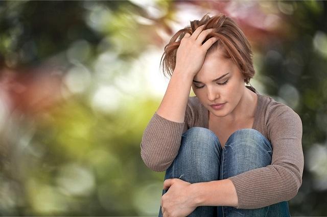 Depression Women Sadness Teenager Violence Crying Emotional Stress