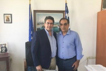 Δήμος Νάξου: Εθιμοτυπική επίσκεψη του Δημάρχου Περάματος