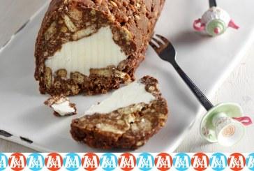 Γλυκός Πειρασμός: Μωσαϊκό με γέμιση παγωτού