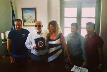 Επίσημη επίσκεψη του Υπουργού Ναυτιλίας στο Δημοτικό Λιμενικό Ταμείο Μυκόνου